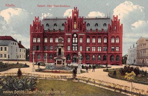 Köslin, Kaiserliche Ober-Post-Direktion