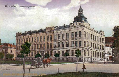 Kremsier, Komenskyschule