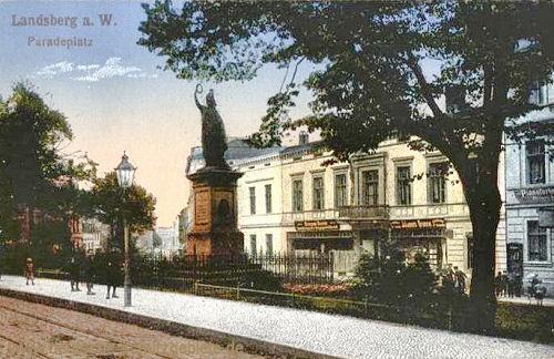 Landsberg a. W., Paradeplatz