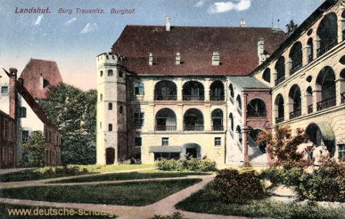 Landshut, Burg Trausnitz Burghof