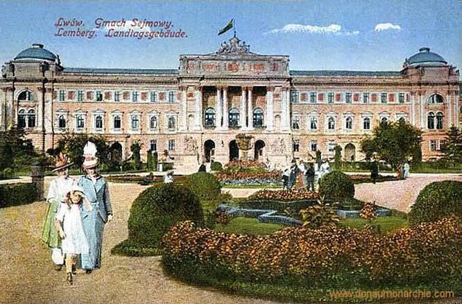 Lemberg, Landtagsgebäude