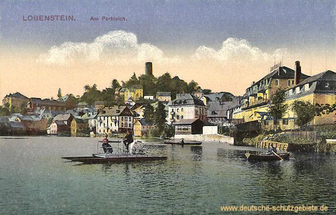 Lobenstein, Am Parkteich