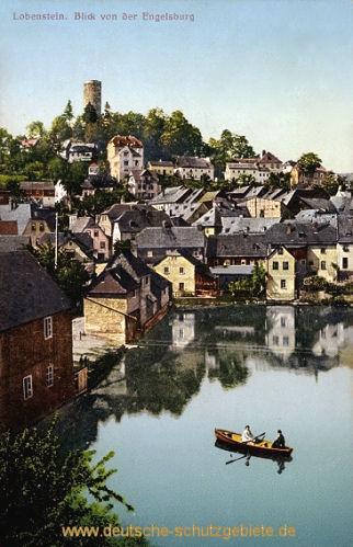 Lobenstein, Blick von der Engelsburg