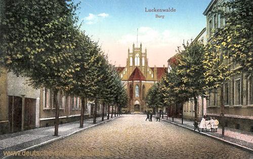 Luckenwalde, Burg