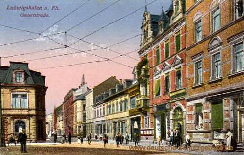 Ludwigshafen, Gellertstraße