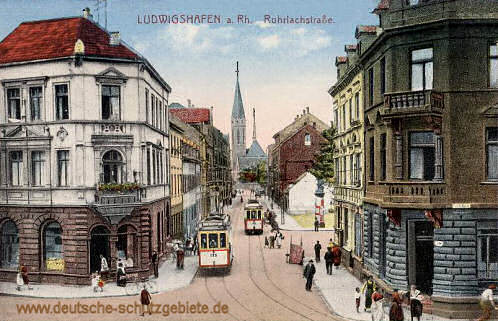 Ludwigshafen, Rohrlachstraße