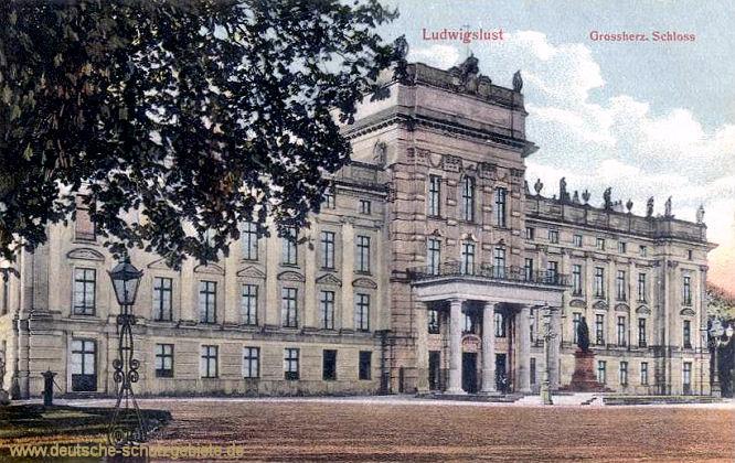 Ludwigslust, Großherzogliches Schloss