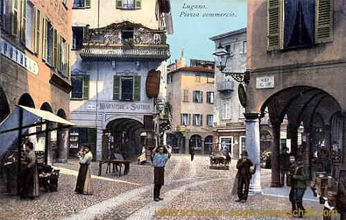 Lugano, Piazza commercio
