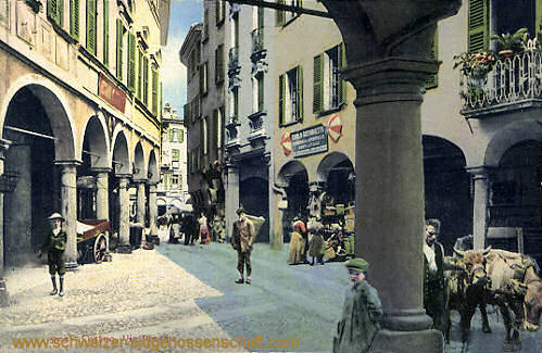 Lugano, Via Ressina