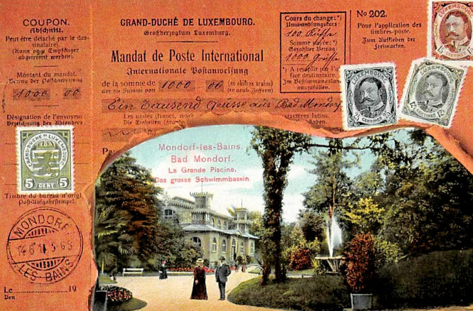 Luxemburg. Bad Mondorf