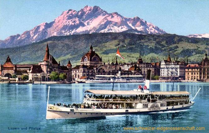 Luzern und Pilatus