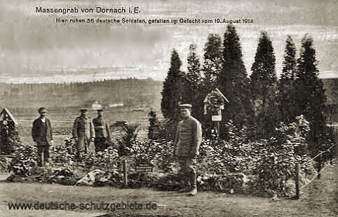 Massengrab von Dornach i. E. (bei Mülhausen)