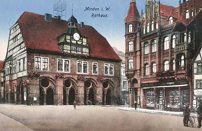 Minden i. W., Rathaus