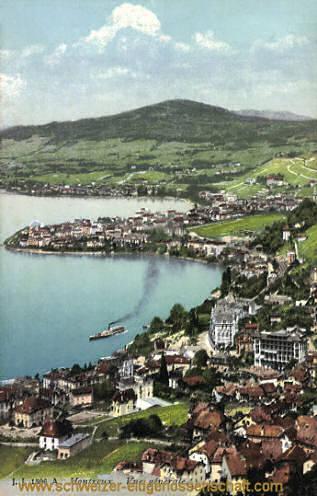 Montreux, vue générale
