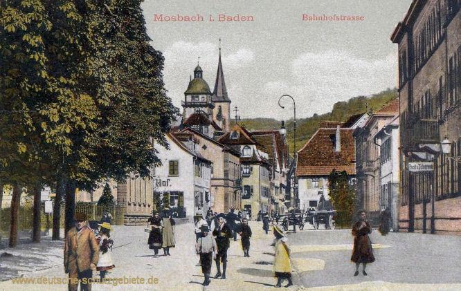 Mosbach in Baden, Bahnhofstraße