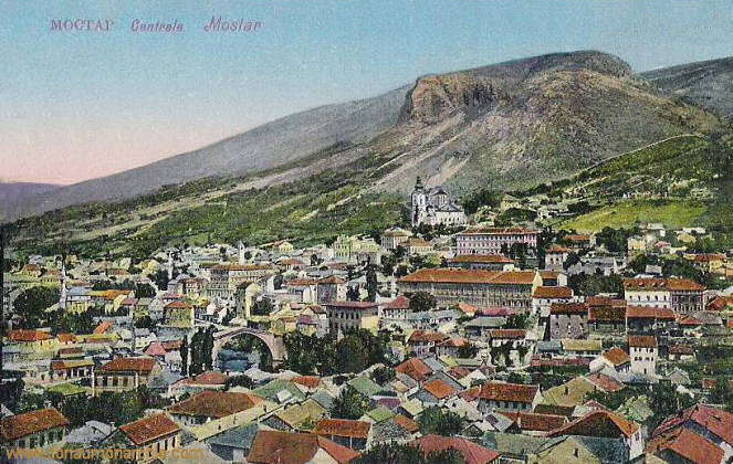 Mostar, Centrale