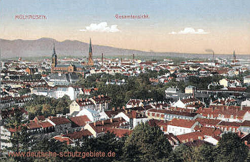Mülhausen, Gesamtansicht