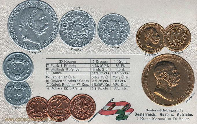 Österreich, Münzen um 1900