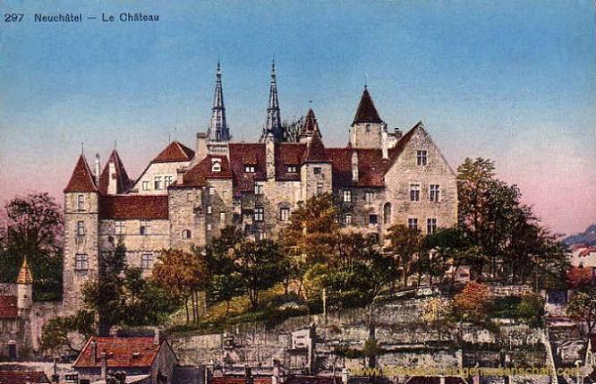 Neuchâtel, La Château