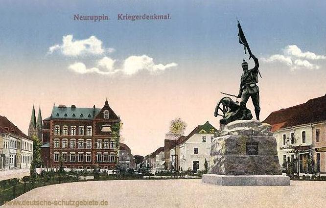 Neuruppin, Kriegerdenkmal