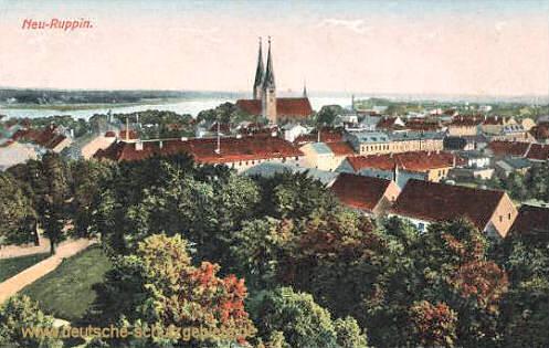 Neuruppin, Stadtansicht