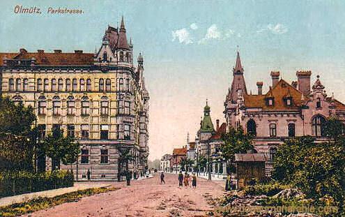 Olmütz, Parkstraße