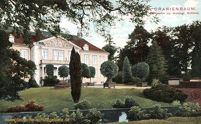 Oranienbaum, Parkpartie am Herzoglichen Schloss