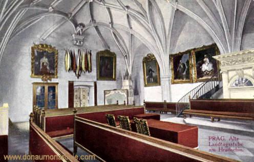 Prag, Alte Landtagsstube am Hradschin