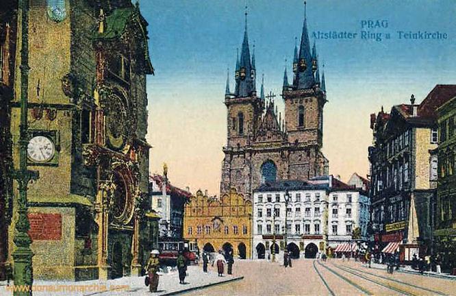 Prag, Altstädter Ring und Teinkirche