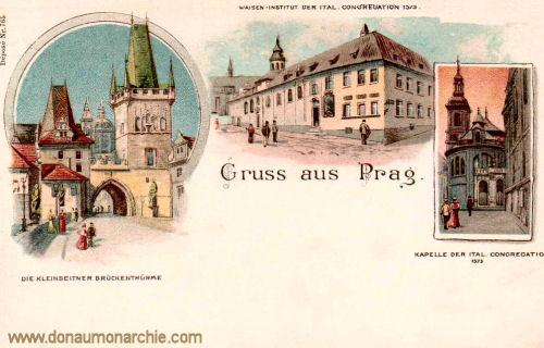 Prag, Kleinseitner Brückentürme