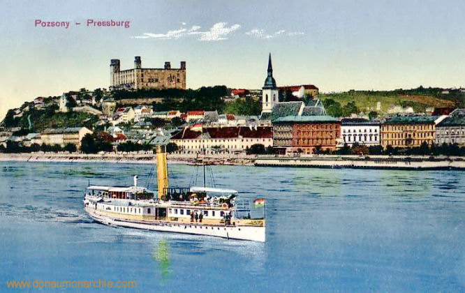 Pressburg - Pozsony