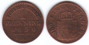 1 Pfenning, Königreich Preußen