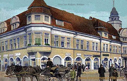 Radautz, Rathaus