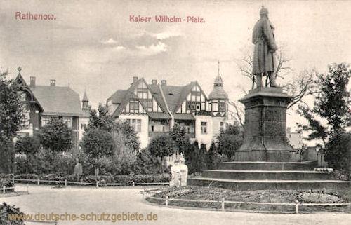 Rathenow, Kaiser Wilhelm-Platz