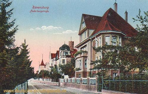 Ravensburg, Federburgstraße
