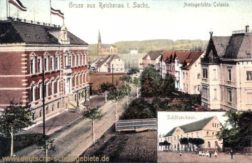 Reichenau i. S., Amtsgericht-Colonie, Schützenhaus