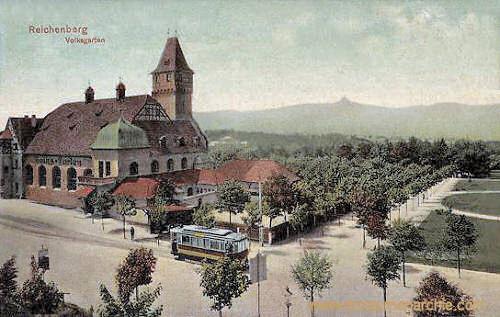 Reichenberg, Volksgarten