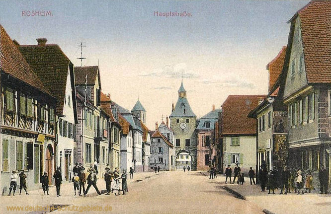 Rosheim, Hauptstraße