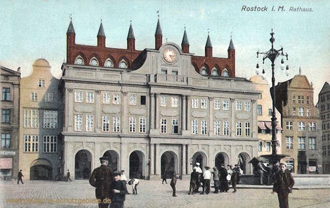 Rostock i. M., Rathaus