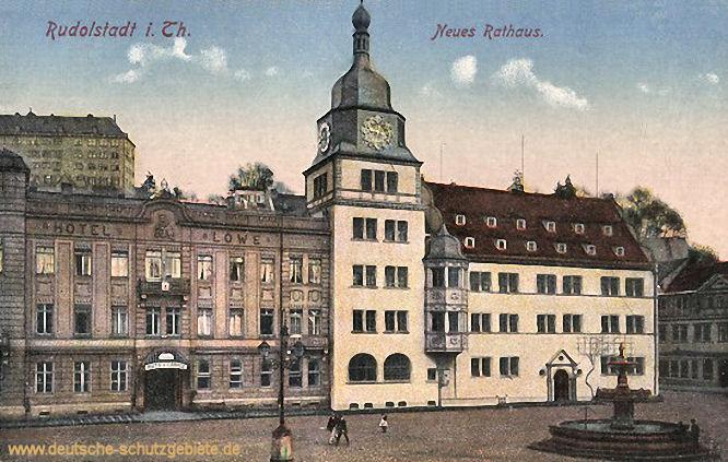 Rudolstadt, Neues Rathaus
