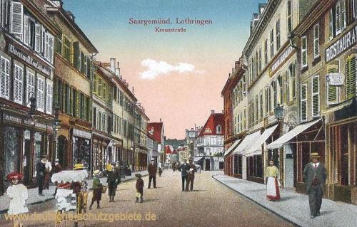 Saargemünd, Kreuzstraße