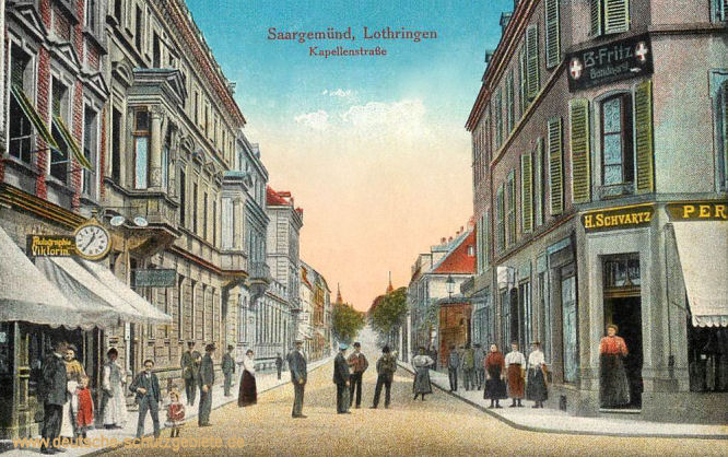 Saargemünd i. L., Kapellenstraße