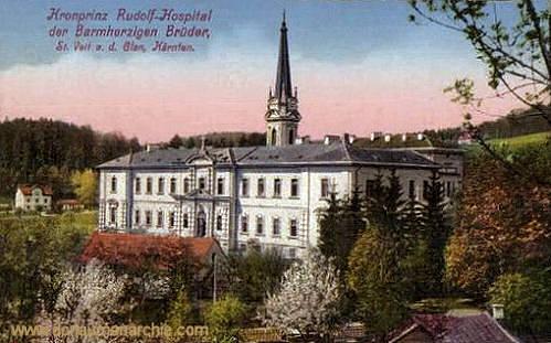 Kronprinz Rudolf-Hospital der Barmherzigen Brüder, St. Veit a. d. Glan