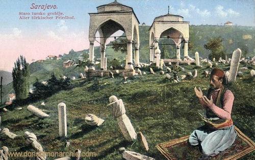 Sarajevo, Alter türkischer Friedhof