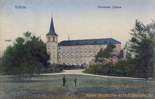 Schleiz, Fürstliches Schloss
