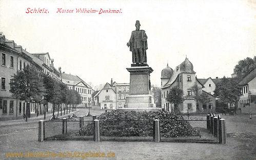 Schleiz, Kaiser Wilhelm-Denkmal