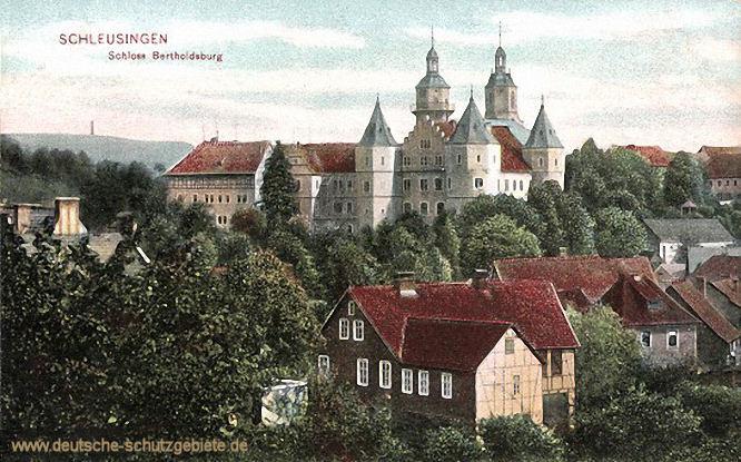 Schleusingen, Schloss Bertholdsburg