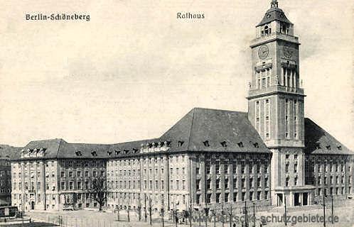 Schöneberg, (Neues) Rathaus