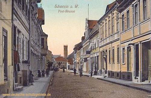 Schwerin a. W., Poststraße