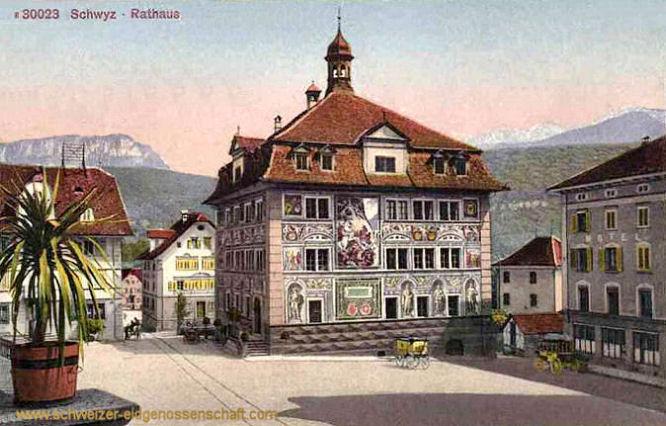 Schwyz, Rathaus